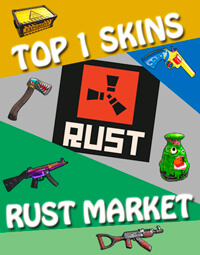 TOP 1 SKINS RUST MARKET